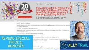 Jummy Brown PLR 20th Anniversary Review